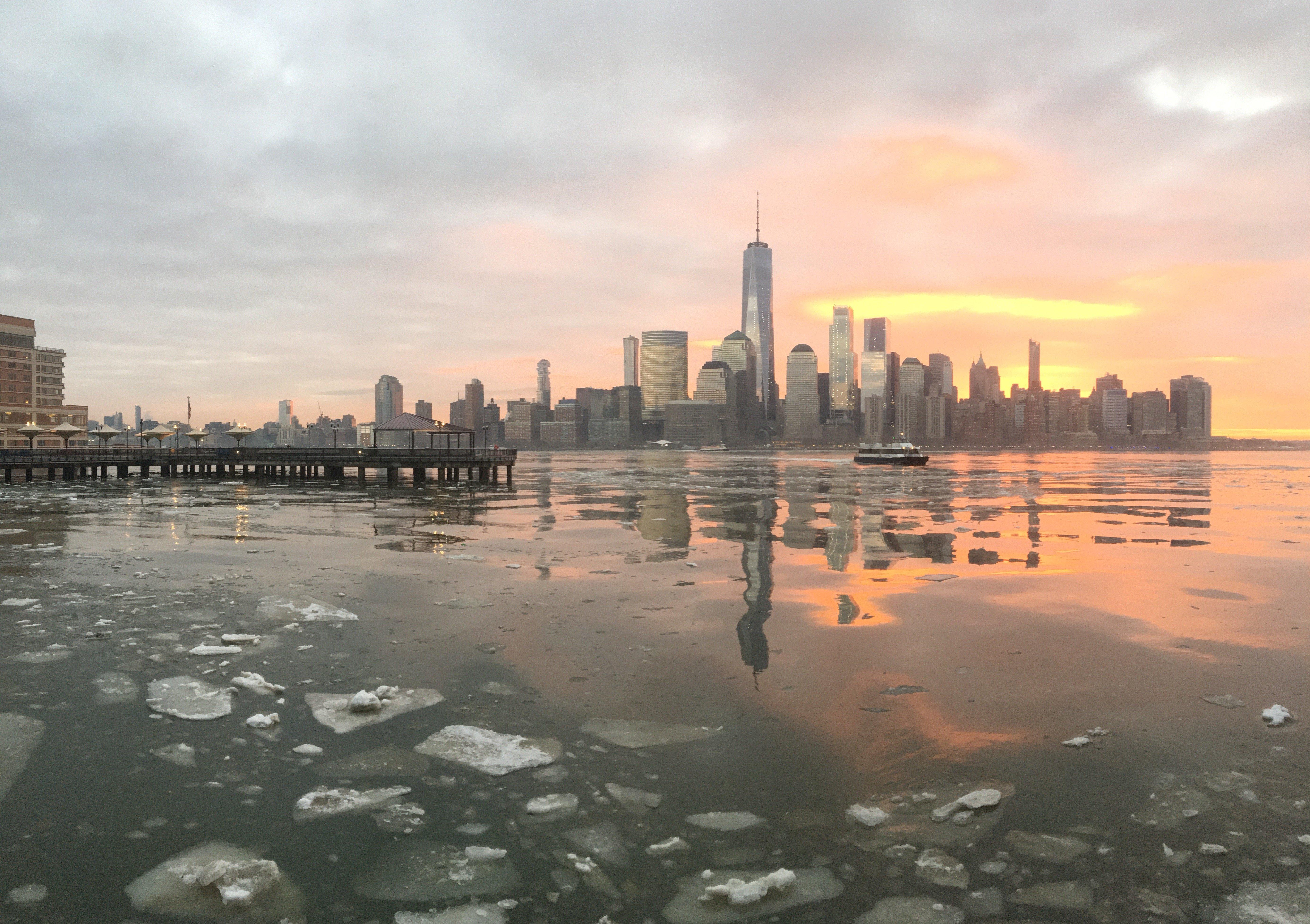 NYC Skyline - Sunset