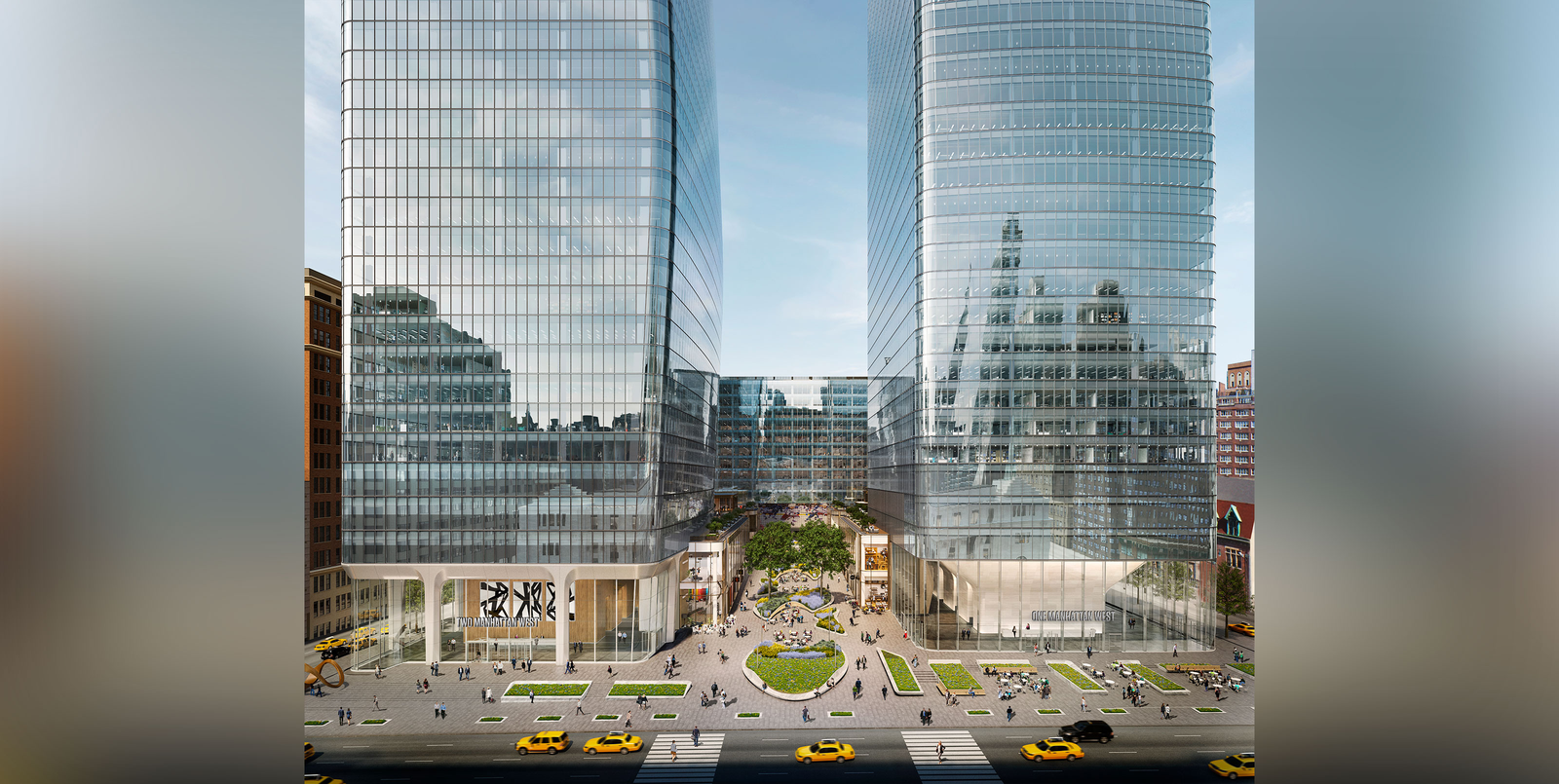 Manhattan West rendering