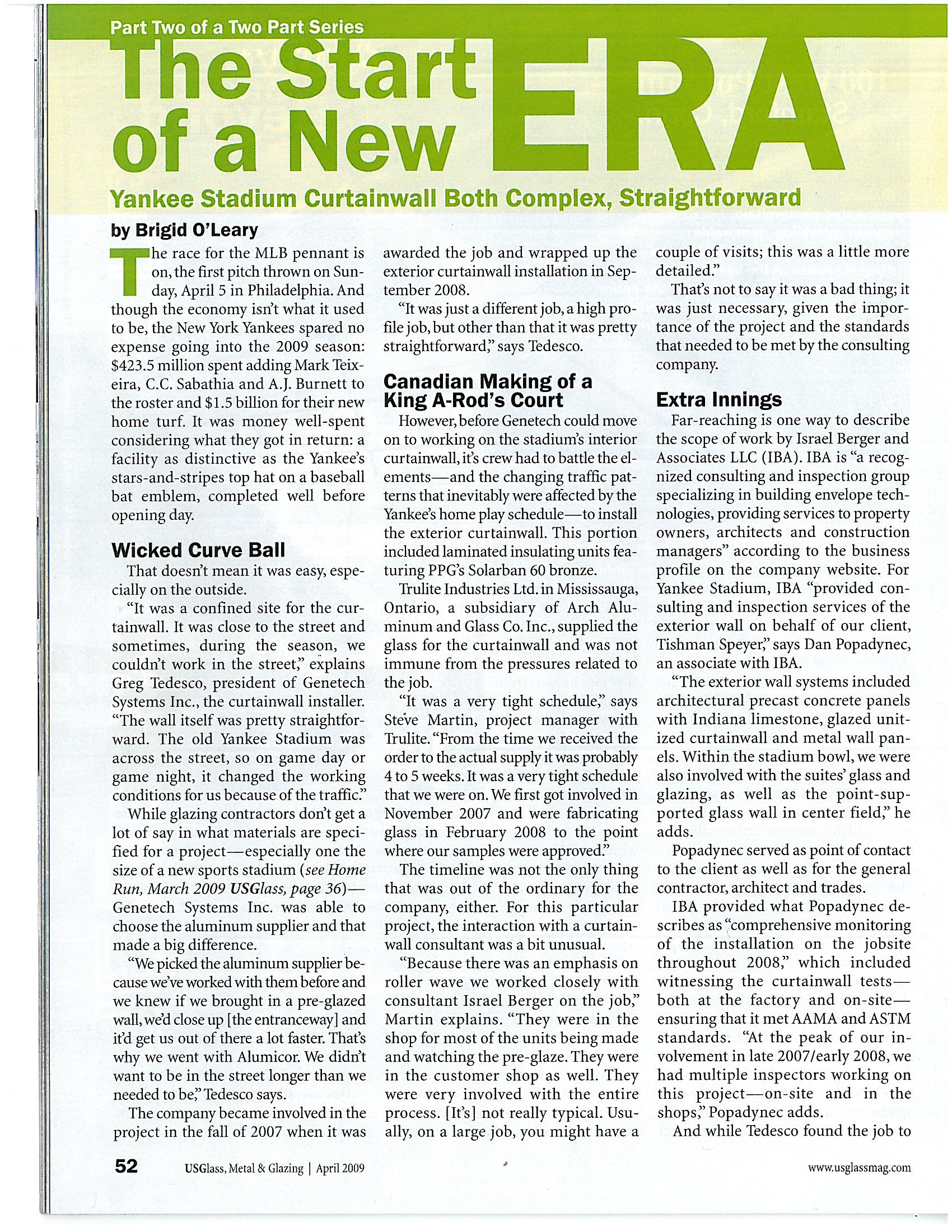 US Glass- Metal - Glazing - April 2009 - The Start Of A New Era_Page_1